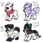 Smol Dogs Keep Coming: Open by CrowAdoptables