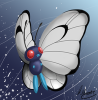 Butterfree Speedpaint by SonARTic
