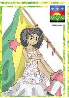 French Guyana color by rociocrush