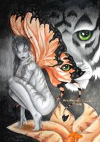 Tiger Lily by CYBERBUTTERFLY
