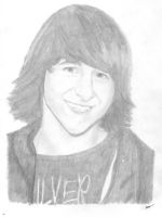 Mitchel Musso Drawing by Riancaa