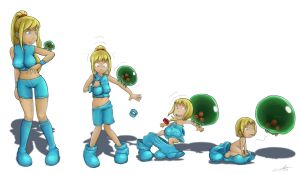Samus AR by The-Padded-Room
