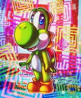 Colorful Yoshi by HG-The-Hamster