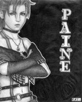 Paine from FF:10-2  -edit- by fanchielover15