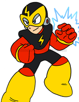 MM1: Elecman by Nintendrawer
