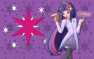 Human Twilight Sparkle WP by AliceHumanSacrifice0