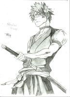 Shuhei Hisagi by royalsmiley