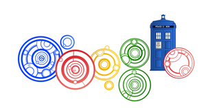 Doctor Who Google Doodle Close-up by HugoLynch