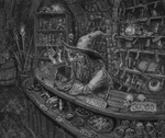 Wizard's Shop by Rotaken