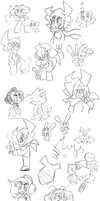 Doodles of OMG MORE ANIMATRONIC DRILLERS?! by WHATiFGirl