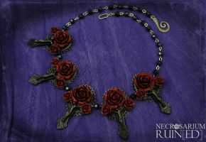 Vampire's Requiem Necklace v2 by Necrosarium