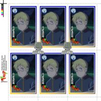 Hetalia Stamps - Sweden by Dreamweaver38