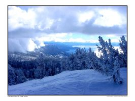 The Mountains of Lake Tahoe by freespot
