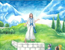 Jesus and the Beatitudes by jmsnooks
