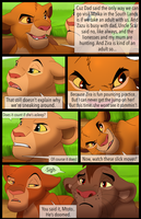 Mufasa's Reign: Chapter 1: Page 2 by albinoraven666fanart