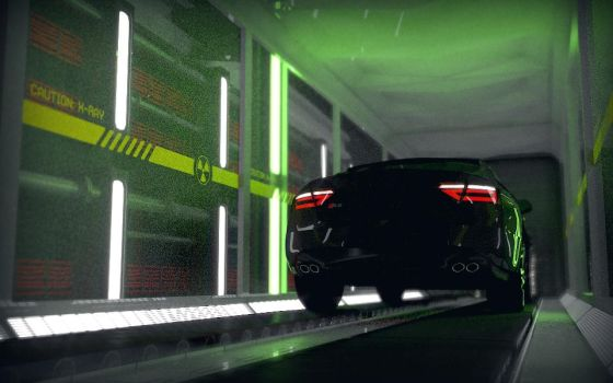 x-Ray Audi by Photofaker