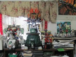 Zord Display Update with more stability by ZeldaTheSwordsman