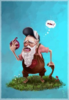 The Onion Old Man by TonyMesa