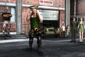 Veteran Guile by ric3do