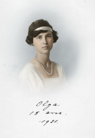 Princess Olga of Greece and Denmark by OTMARomanov