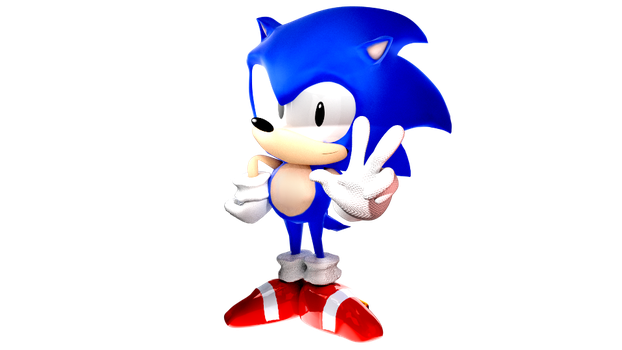 (Sonic the hedgehog 3) 3D Render!! by TheAntitoxic