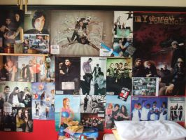 My loveleh poster wall by compactdiscface