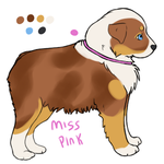 Miss Pink by TripleThreatKennels