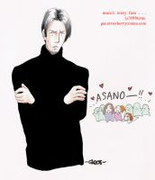 GSS--Asano and his fans. by ryuuenx