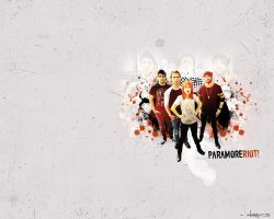 Paramore Wallpaper by alanmarcos