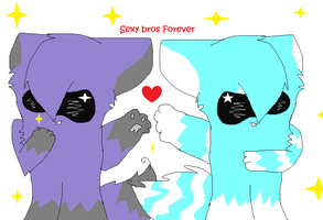 Sexy Bros ForEVER! by JJ-cat