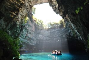 Melissani - Kefalonia,Greece by Raptor7gr