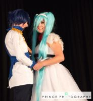 Miku and Kaito by seriouslyblondie