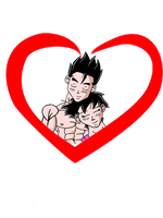 I Love You: Gohan and Videl by SonGohan10