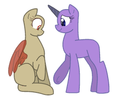 Take my hoof :mlp base 1: by TheDoctorsGirl99
