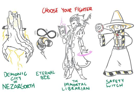 Choose Your Fighter R3-3 by MatthewJWills