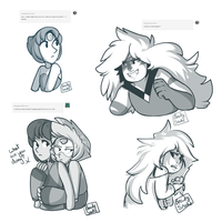 tumblr doodles by BeautySnake