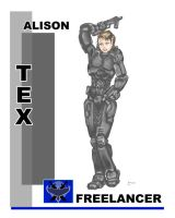 Red vs. Blue: Tex by Genchaos