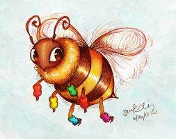 Jazzercise Bee by Kumu18