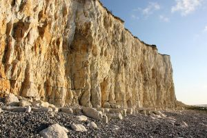 Chalk cliff by PlasticJoinsTheWorld