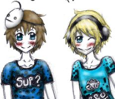 pewdiecry: crazy stuff happens chapter 14 by YaoiYuriDrawer