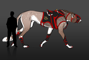 Hat Trick Racing Tack by blackwing-fang