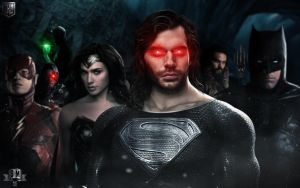 THE JUSTICE LEAGUE. (Superman regeneration suit.) by spidermonkey23
