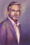 Christoph Waltz by Vogelspinne