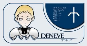 Deneve Claymore Card by niwre-san