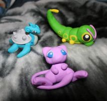 Pokemon Fimo Sculptures by rachelled