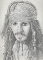 Jack Sparrow by Miss--Cake