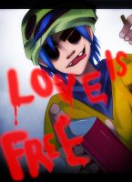 Gorillaz: Love is Free by Tuliblu