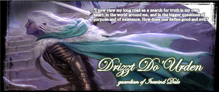 Drizzt Timeline cover by Lorkar