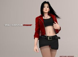 Lei Fang Casual Battle Render (Super High Res) by bstylez