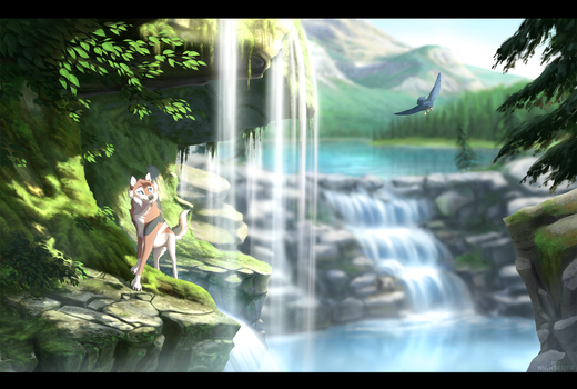 Serene Sanctuary by Nightrizer